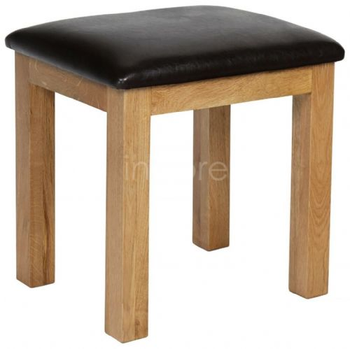 Loxely Oak Dressing Table Stool
